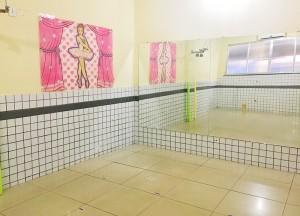sala de aula dança